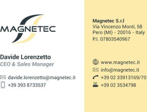 Biglietto da visita Magnetec retro